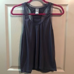 VS sport top with mesh detail.